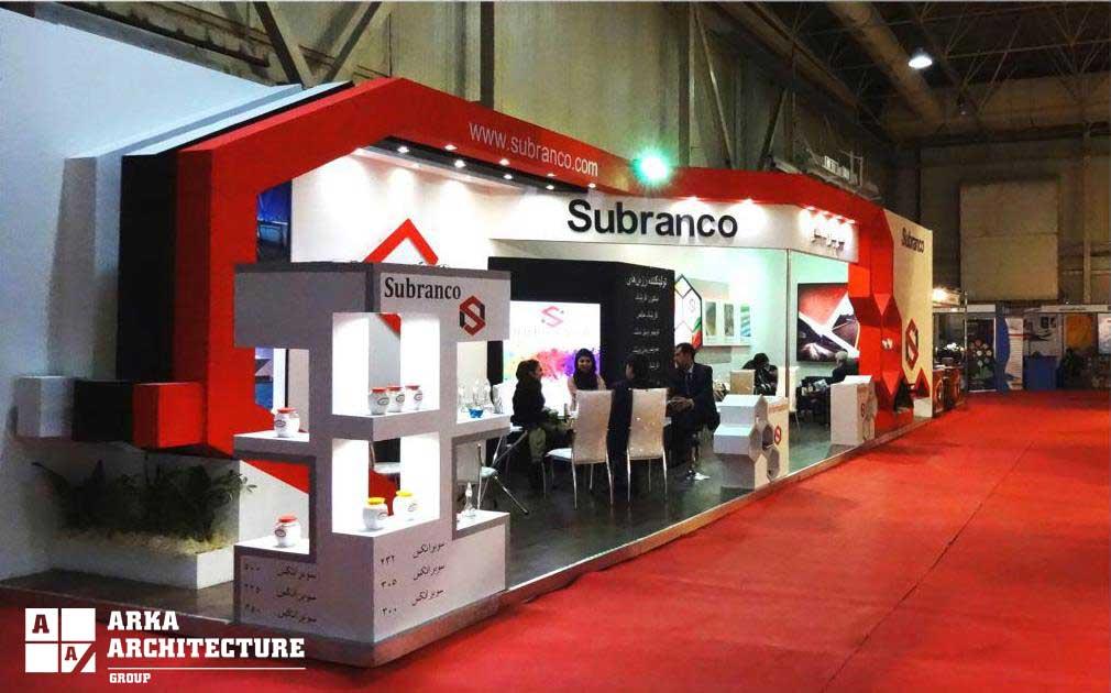 غرفه سازی شرکت سوبرانکو