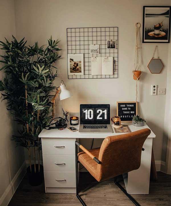 طراحی دکوراسیون اتاق کار