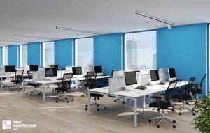 مراحل طراحی دکوراسیون اداری