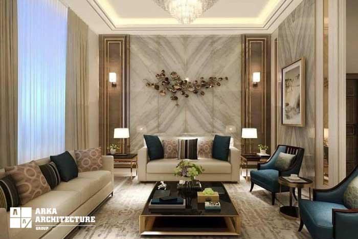 مدلهای دیوار تزئینی در دکوراسیون داخلی
