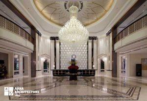 مدل های دکوراسیون لابی هتل