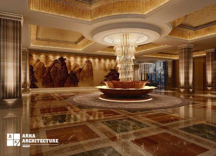 طراحی داخلی هتل
