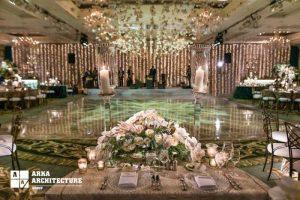 طراحی داخلی تالار عروسی