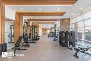 طراحی سالن ورزشی