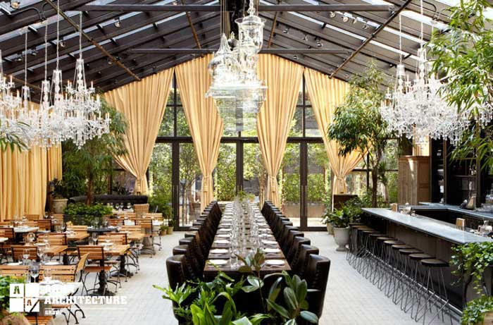 باغ رستوران